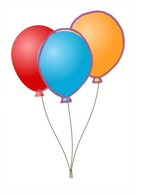 Balloner i farve