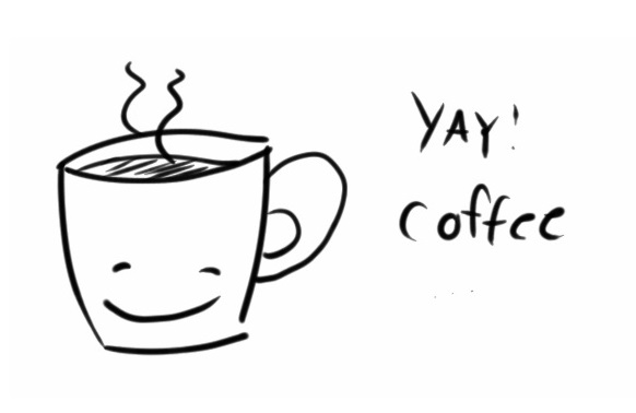 glad kaffe