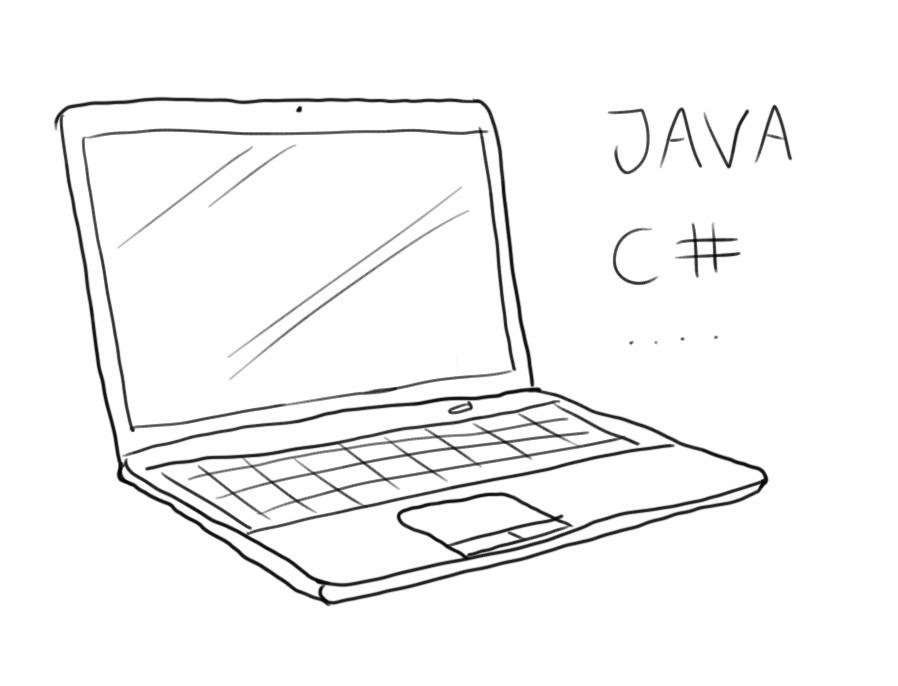 laptop for en udvikler
